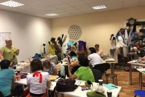 19-21.07.2019 - Фотоотчет о мастер классах по валянию Инны Олейник в Екатеринбурге